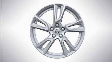 "XC60 18"" 5-Double Spoke Silver Alloy Wheel"